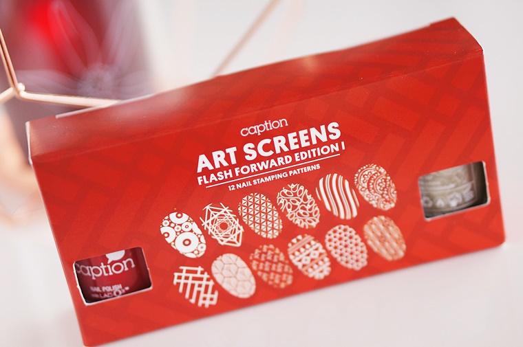 caption art screens flash forward edition 1 1 - CAPTION Art Screens Christmas nails