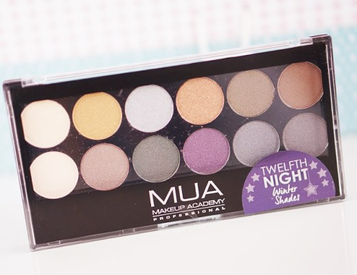 MUA twelfth night palette
