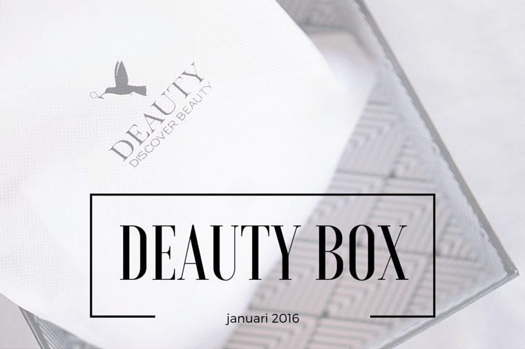 deauty januari 2016 1 - Deauty Box