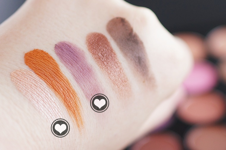 morphe 35w palette review swatches 7 - Morphe 35W palette & nieuwe kwastenset