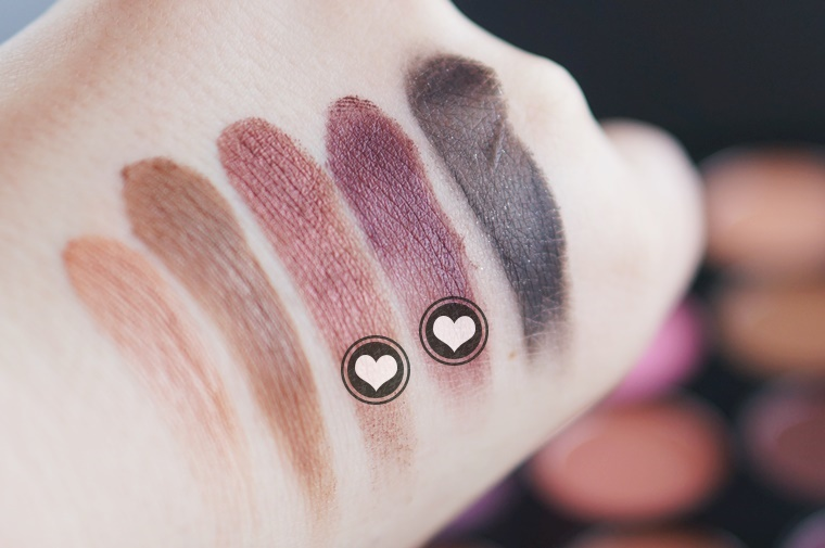 morphe 35w palette review swatches 9 - Morphe 35W palette & nieuwe kwastenset