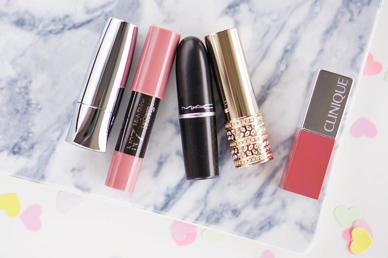 zachtroze lipsticks koele lichte huid 4 - 5 must have lipsticks voor een lichte huid