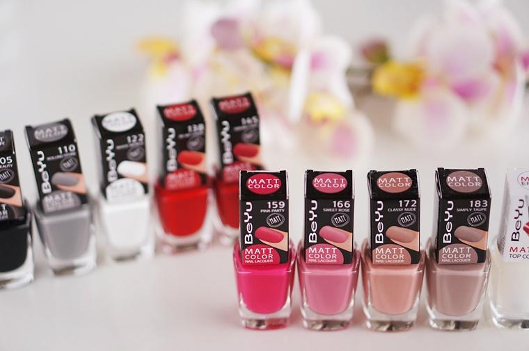 beyu matt color nail lacquer 1 - BeYu matt color nail lacquer
