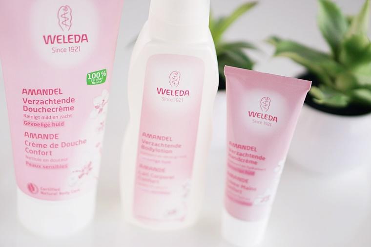 weleda amandel 1 - Nieuwe Weleda amandel producten ♥