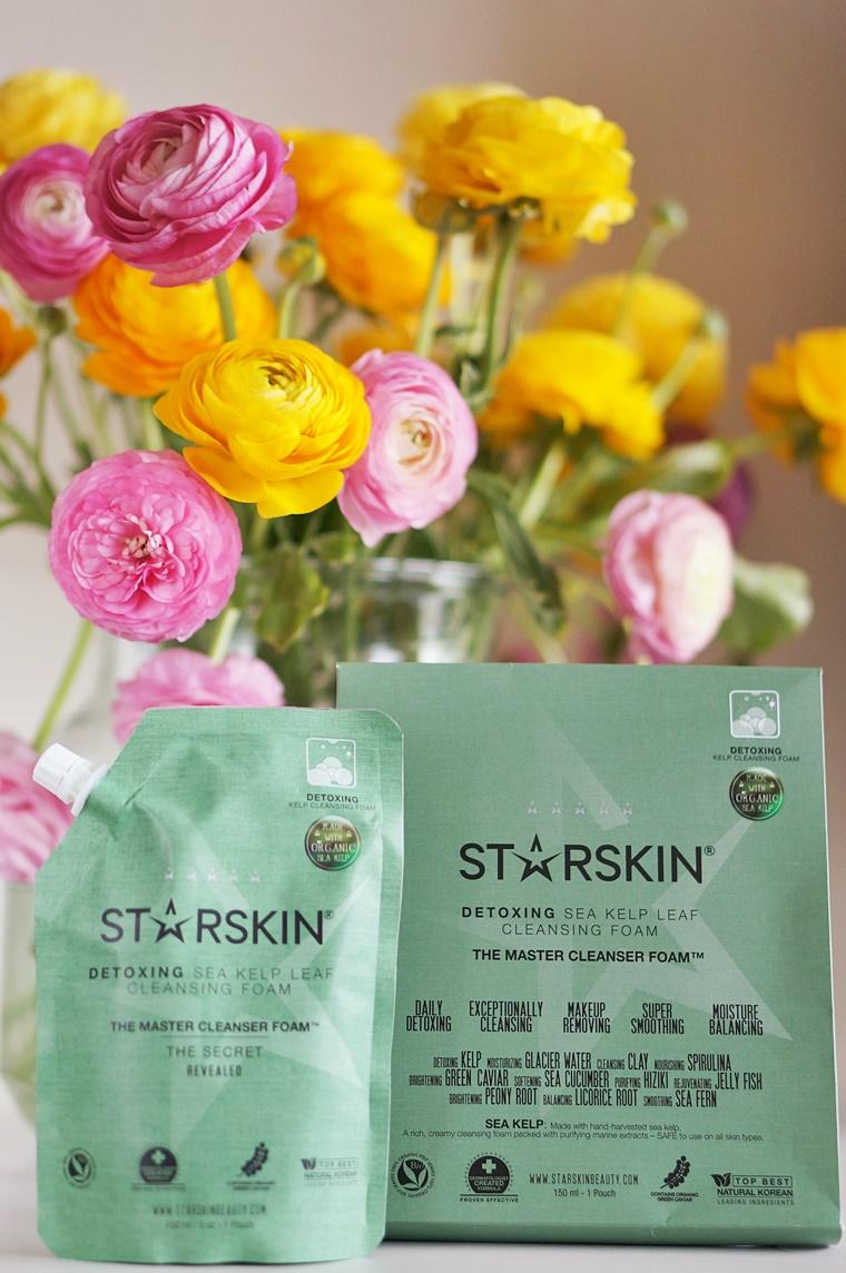 starskin the master 1 - Starskin The Master cleanser foam & sheet mask