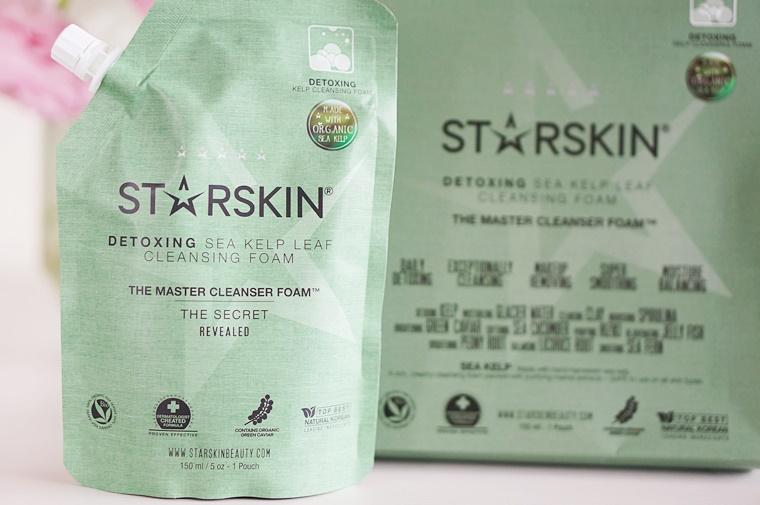 starskin the master 2 - Starskin The Master cleanser foam & sheet mask