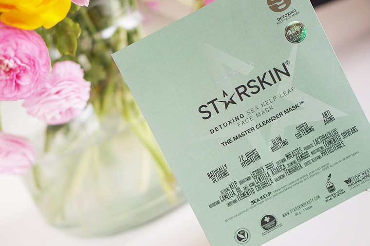 starskin the master 6 - Starskin The Master cleanser foam & sheet mask