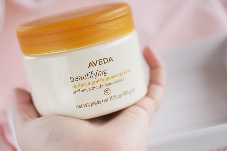 aveda beaitifying radiance polish review 2 - Aveda Beautifying Radiance Polish