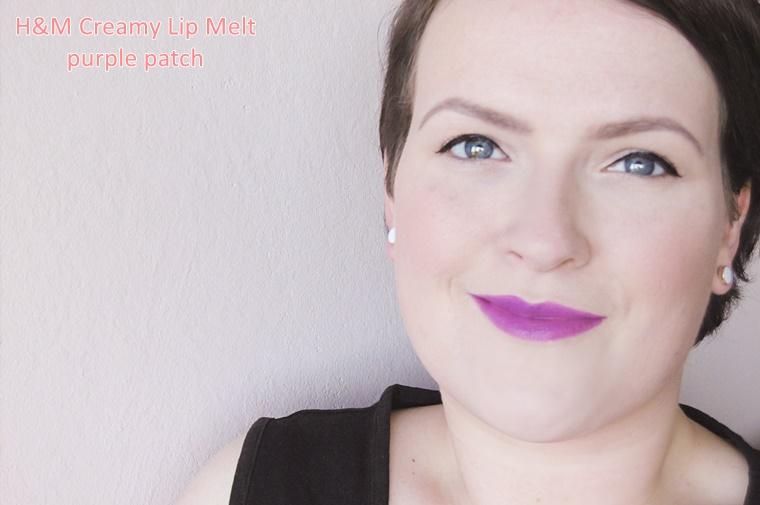 hm creamy lip melt 8 - H&M Creamy Lip Melt (OCC Lip Tar dupe)