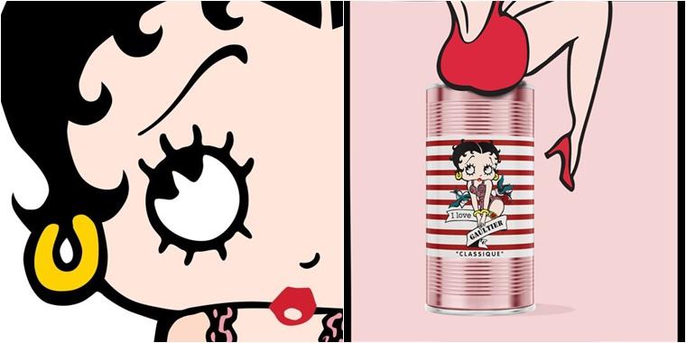 jean paul gaultier betty boop 1 - Jean Paul Gaultier Betty Boop & Popeye (Eau Fraîche limited edition)