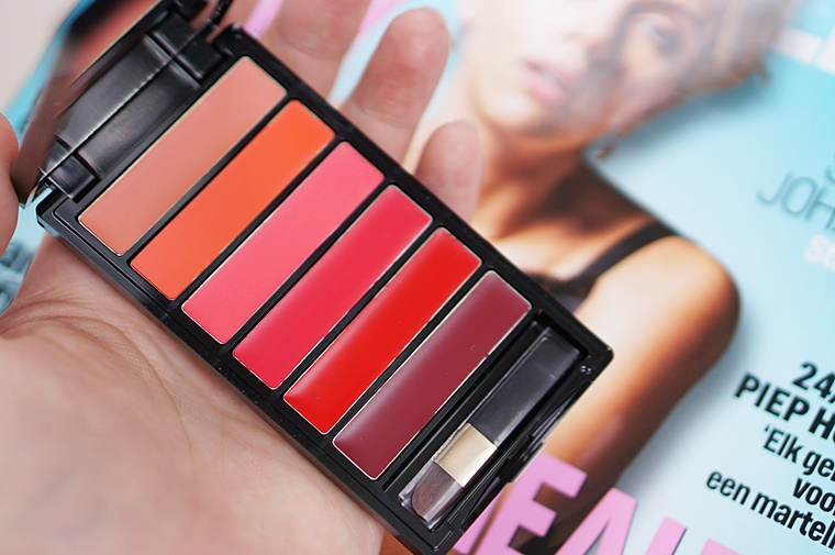color riche la palette glam lips 2 - L'Oréal Color Riche La Palette Glam lips