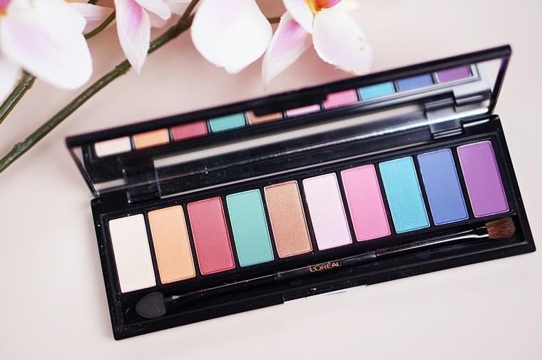 la palette glam eyes 2 - L'Oréal La Palette Glam eyes