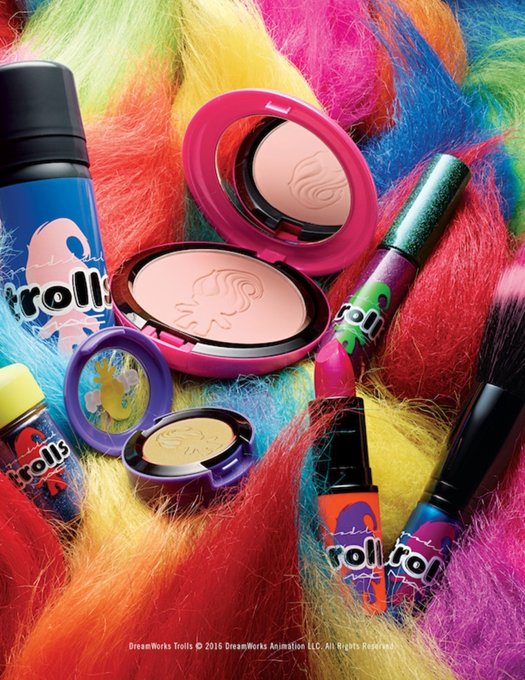mac good luck trolls 1 - Newsflash | MAC Good Luck Trolls collectie