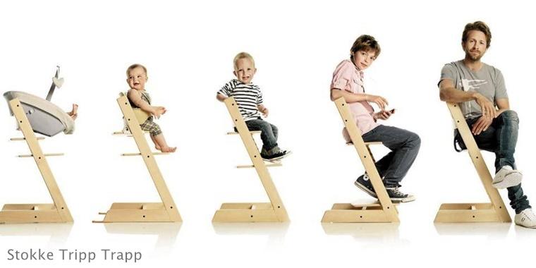 stokke tripp trapp 1 - De Stokke Tripp Trapp kinderstoel