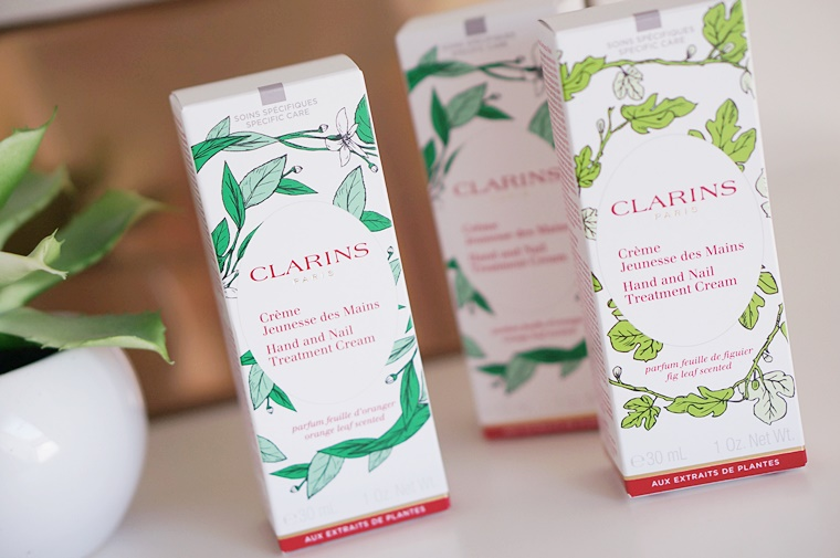 clarins hand nail treatment cream