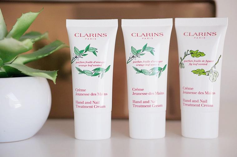 clarins hand nail treatment 3 - Handcrème tip | Clarins hand nail treatment cream