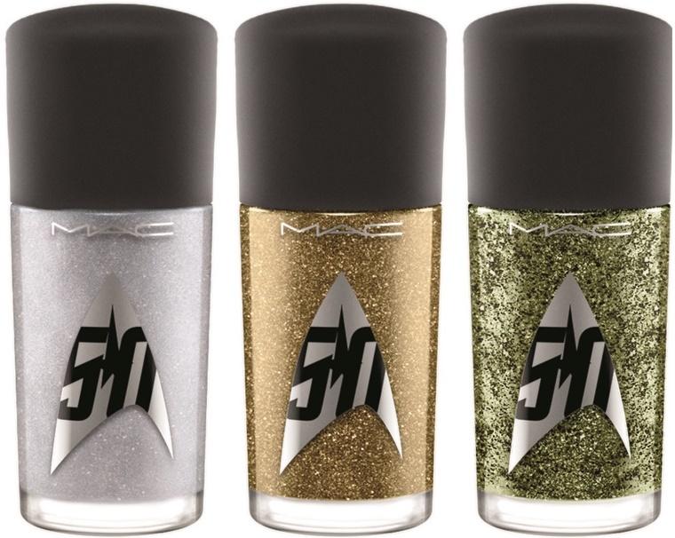 mac star trek 4 - MAC Star Trek | Kling-It-On lipstick & Set To Stun lipglass
