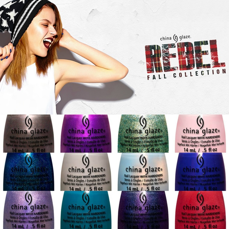 china glaze rebel