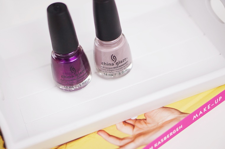 china glaze dope taupe purple fiction 2 - China Glaze Rebel collectie | Dope Taupe & Purple Fiction