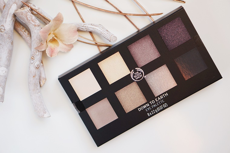 the body shop down to earth palette 1 - The Body Shop Down to Earth Palette