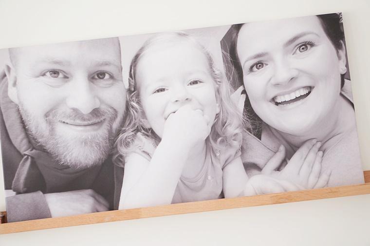 beste canvas foto familieportret 2 - Personal | Een nieuwe familiefoto op canvas ♥