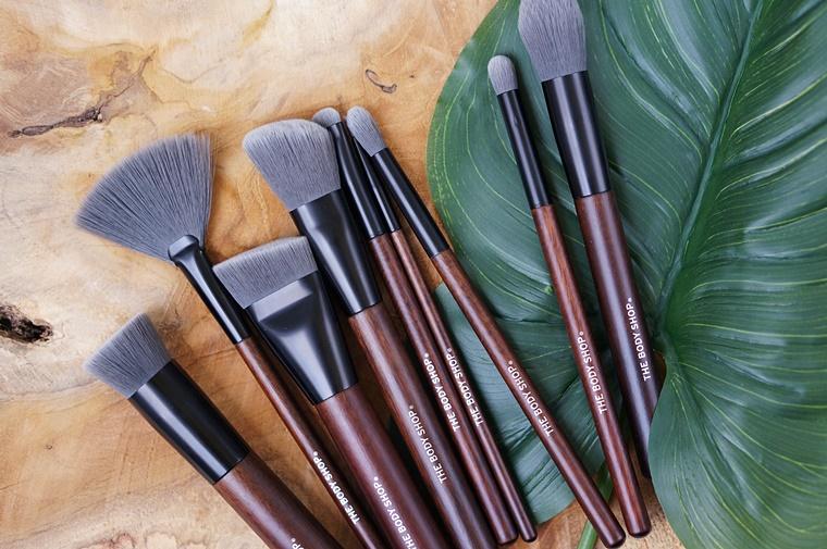 cruelty free make up kwasten the body shop 1 - Cruelty-free make-up kwasten van The Body Shop