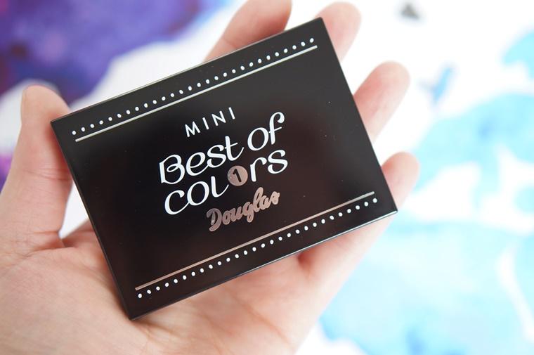douglas best of colors mini palette 2 - Budget beauty tip   Douglas Best of Colors mini palette
