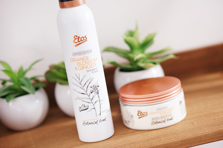 etos botanical boost orange blossom ginger 1 - Etos Botanical Boost Orange Blossom & Ginger