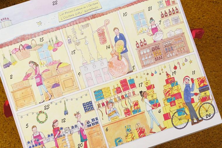 L'Occitane adventskalender 2016