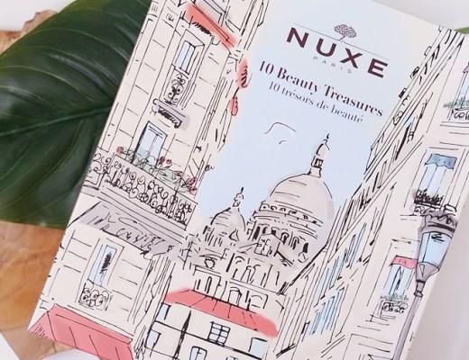 nuxe 10 beauty treasures box