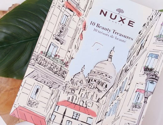nuxe 10 beauty treasures box