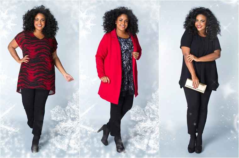 x two kerst outfits 2 - Christmas Countdown | X-two Kerst outfits (plussize fashion)