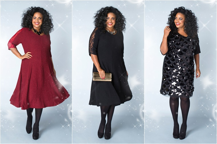 x two kerst outfits 3 - Christmas Countdown | X-two Kerst outfits (plussize fashion)