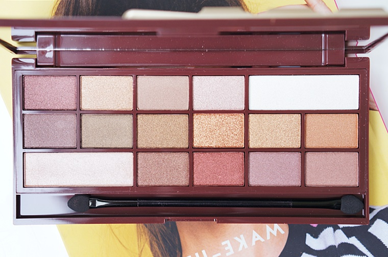 i heart makeup golden bar review 3 - I heart Makeup Golden Bar palette