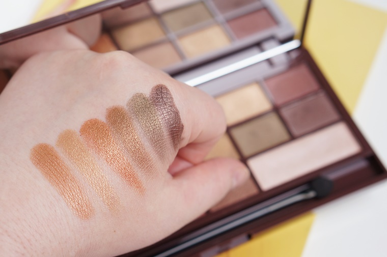 i heart makeup golden bar review 6 - I heart Makeup Golden Bar palette