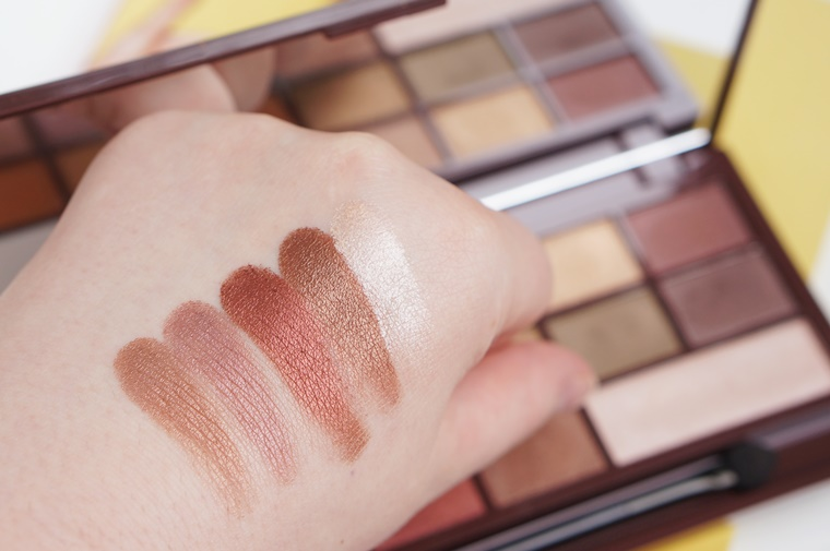 i heart makeup golden bar review 7 - I heart Makeup Golden Bar palette