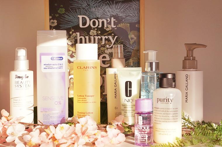 reinigen van je huid