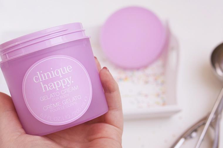 clinique happy gelato cream review 4 - Clinique Happy Gelato Cream for body & hands