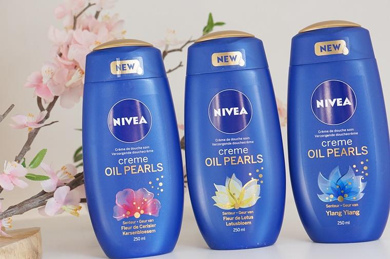 nivea oil pearls douchecrème 1 - Budget Beauty Tip | Nivea Oil Pearls Douchecrème