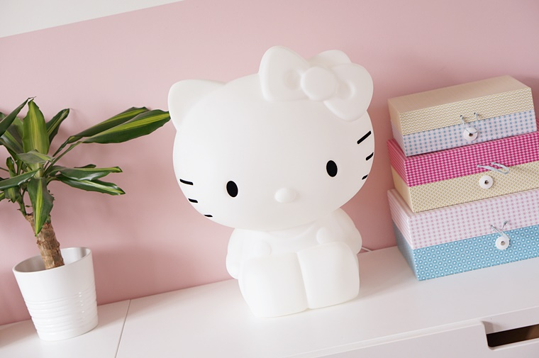 hello kitty lamp 1 - Kids Talk | Hello Kitty designlamp voor op de kinderkamer