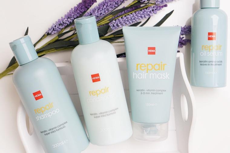 hema repair zonder sls sles 1 - Budget Beauty Tip | Haarverzorging zonder SL(E)S!