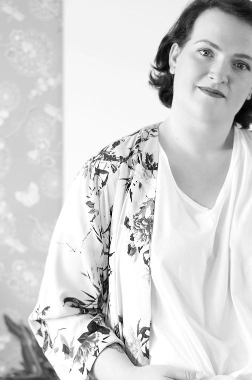 kimono jacket plussize 3 - Outfit of the day | The kimono jacket ♥