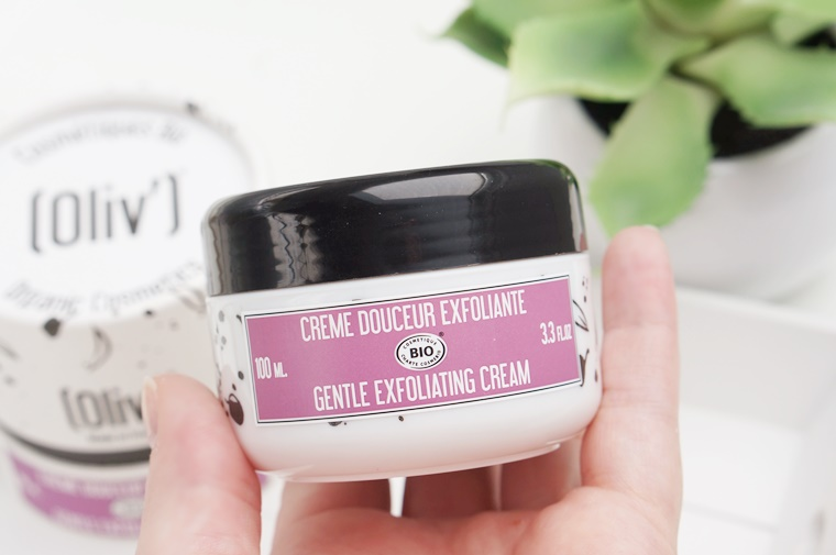 oliv bio gentle exfoliating cream 2 - Oliv Bio | Gentle Exfoliant Cream & Radiance Face Mask