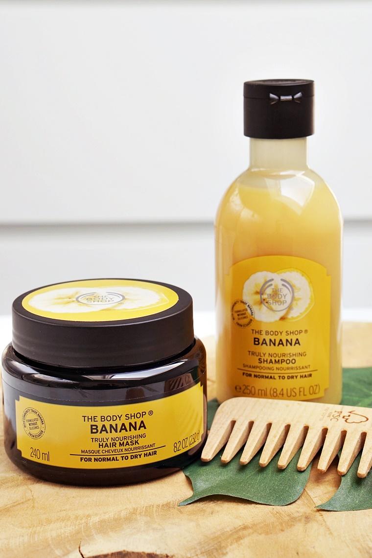 the body shop banana hair 5 - The Body Shop Banana shampoo & hair mask
