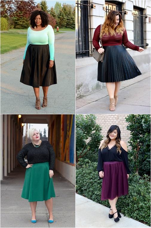 plussize midi skirt 1 - Plussize Fashion | De midi skirt