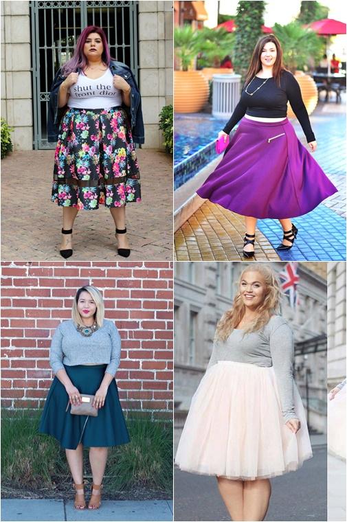 plussize midi skirt 2 - Plussize Fashion | De midi skirt