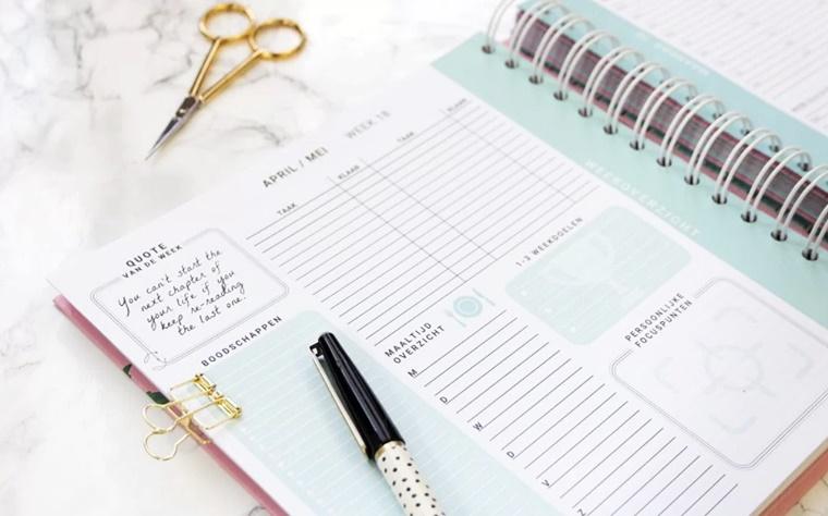 flow planners agenda 2018 2 - Girlboss | Marloes de Jong van Flow Planners