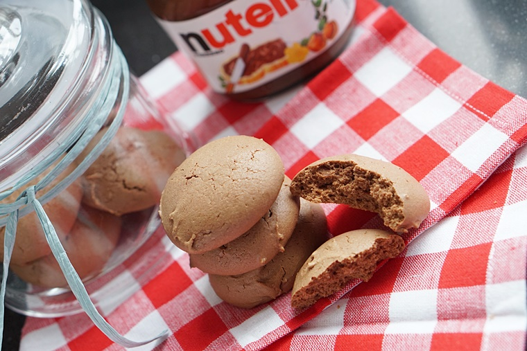 nutella koekje recept 2 - The Cookie Bakery | Nutella koekjes recept