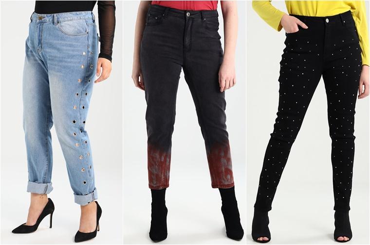 plussize jeans met een twist