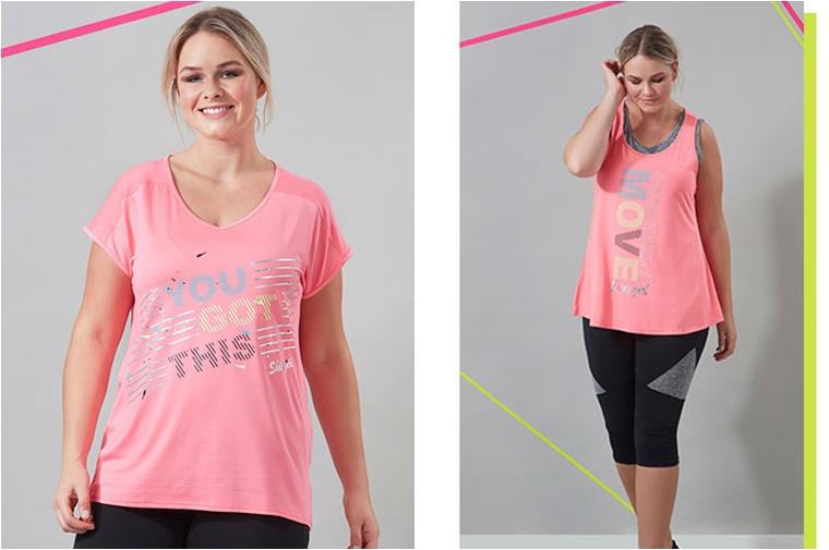 ms mode active wear 1 - Plussize Sportswear
